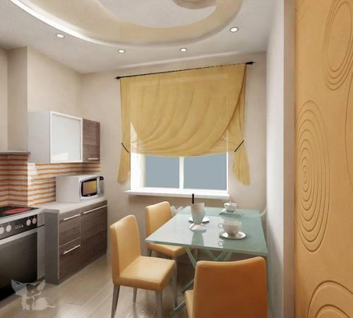 Дизайн кухонного стола