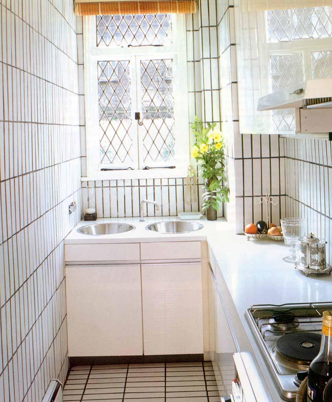 """Все для дома """" дизайн узкой кухни, фотографии, оптимальная п."""
