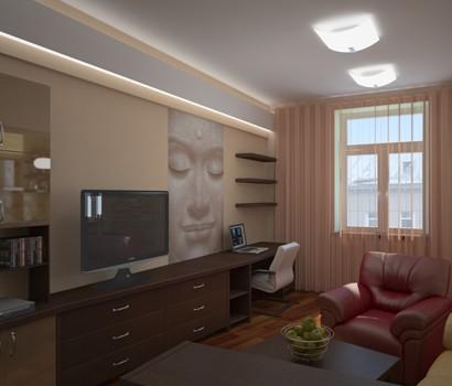 Дизайн домом со вторым светом