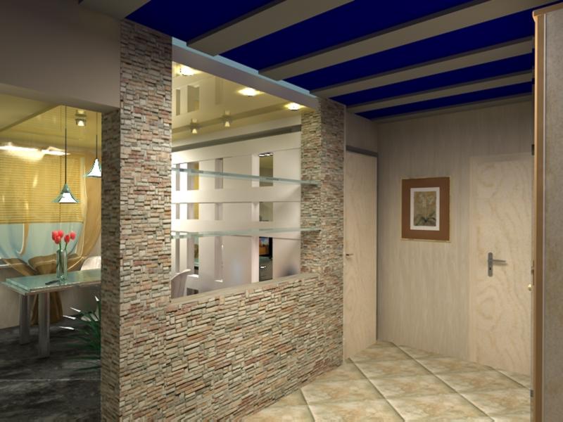 Дизайн кухни прихожей фото