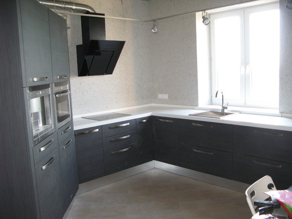 Дизайн пятиугольной кухни фото