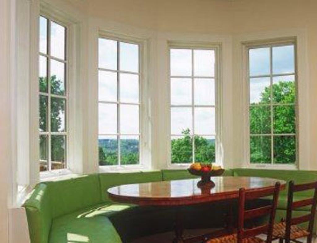 Большие окна в доме фото